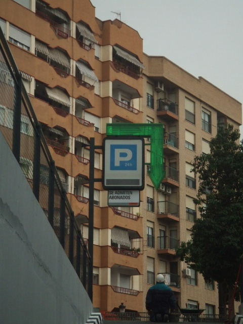 Parking Renfe Valencia
