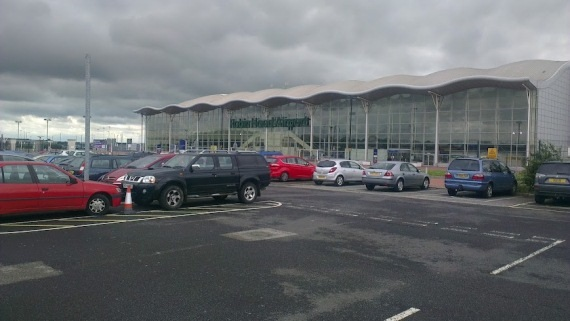 Doncaster car park at the airport