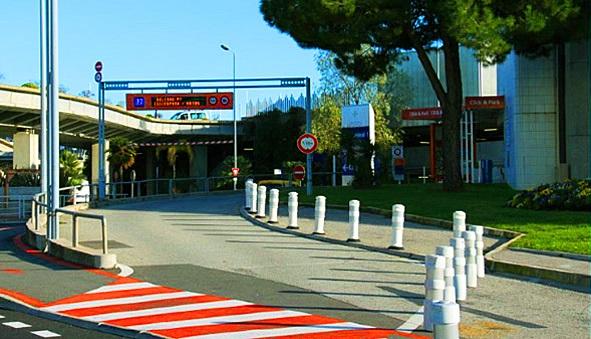 nice c te d 39 azur official airport parking terminal 2 p7 parkvia. Black Bedroom Furniture Sets. Home Design Ideas