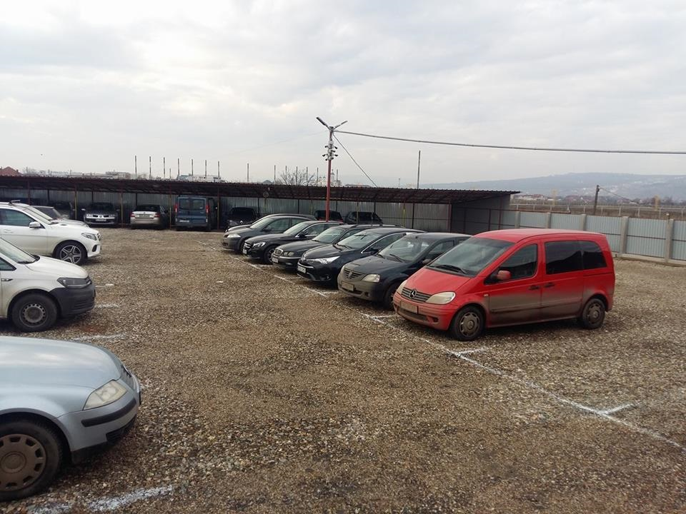 Holiday parking Cluj