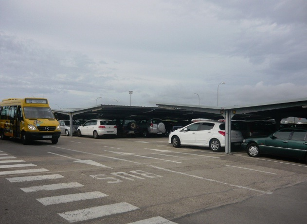 Parking Larga Estancia Palma de Mallorca AENA