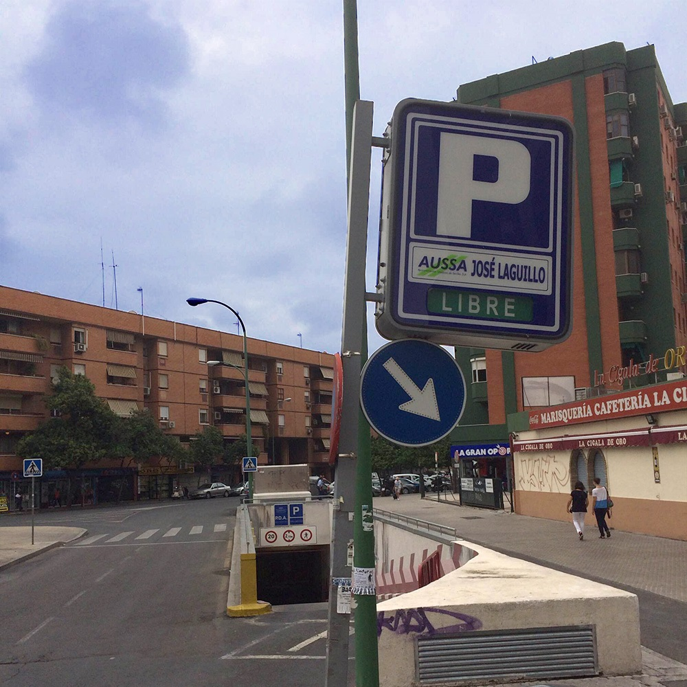 José Laguillo Parking Seville Santa Justa Station