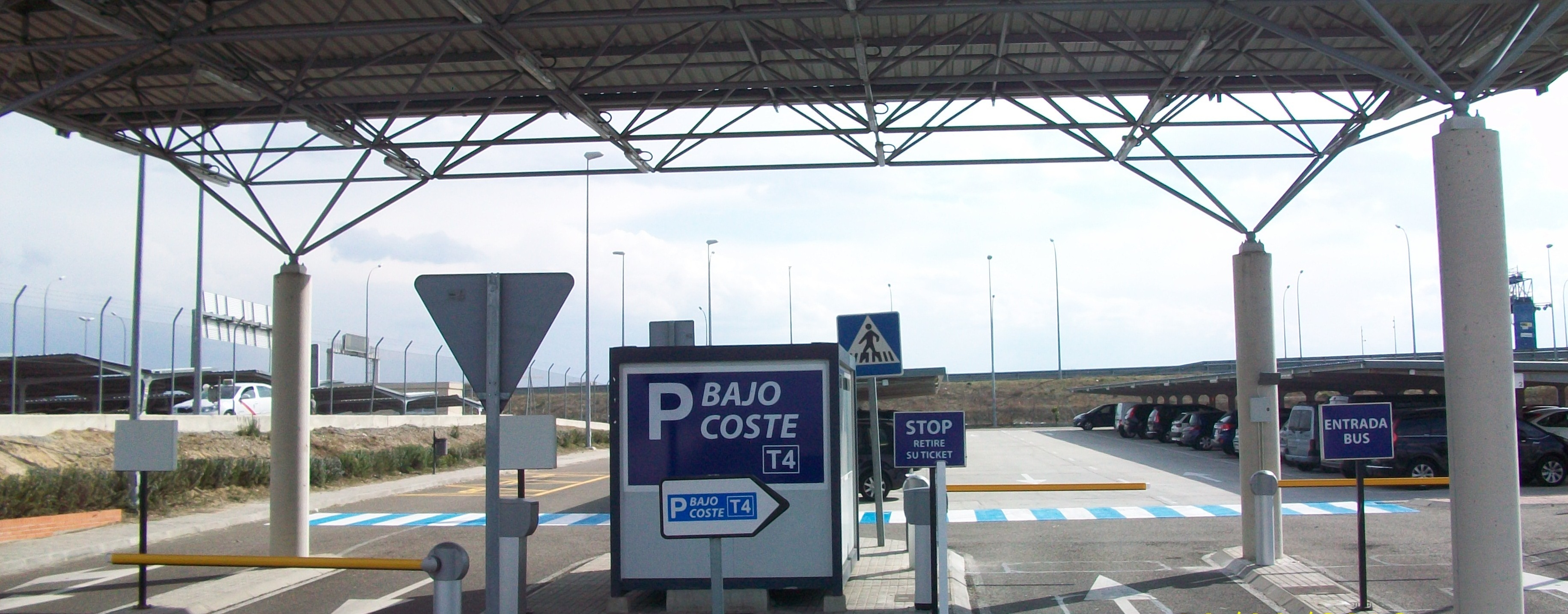 Parking Aeropuerto Barajas Bajo Coste T4