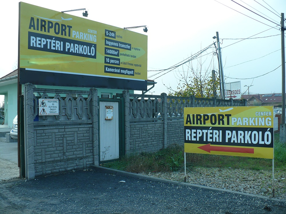 Airport Parking Center Budapest_Entrance