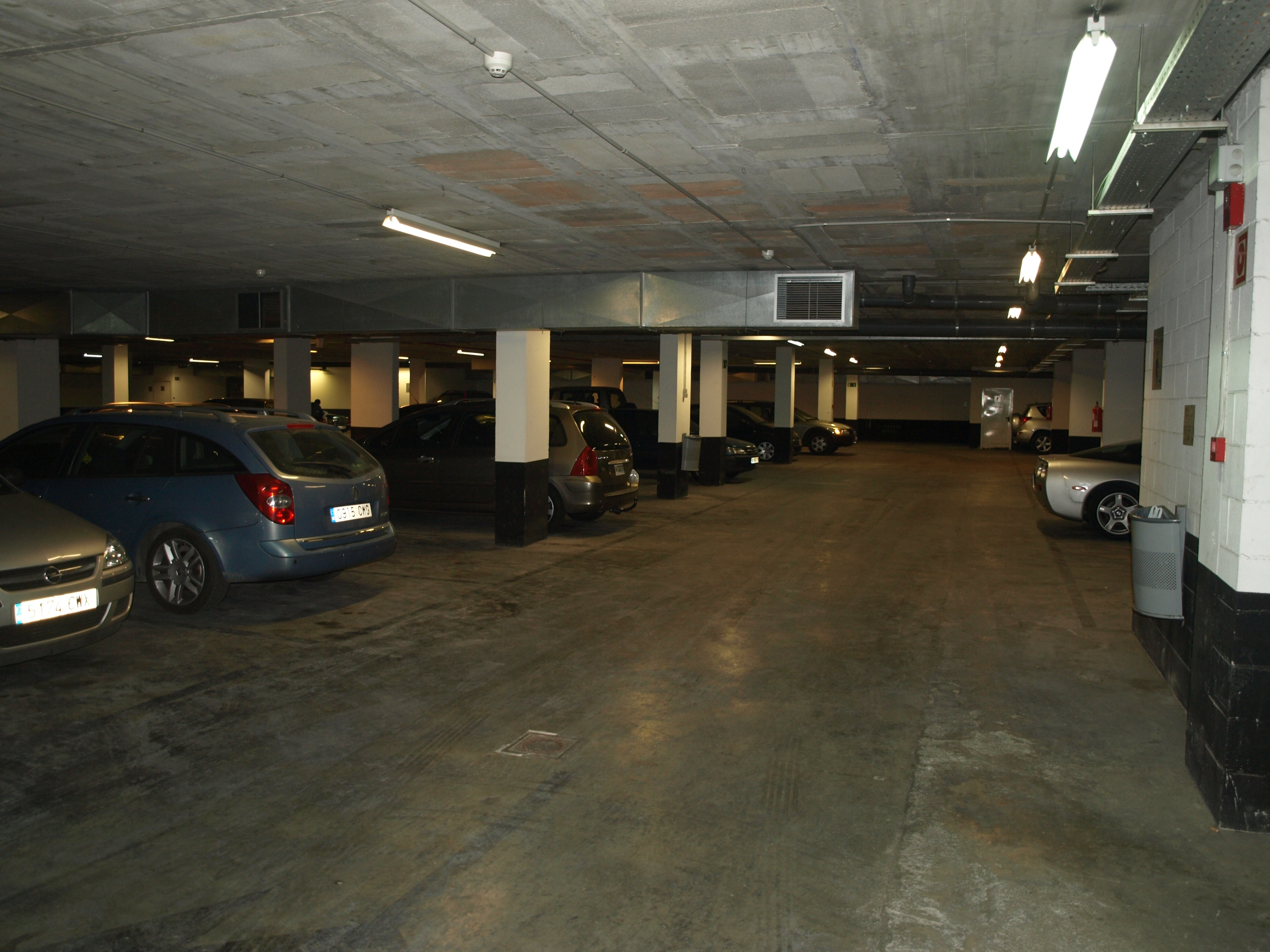 Parking Hotel Tryp Barcelona