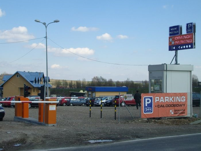 Parking Lotnisko Krakow