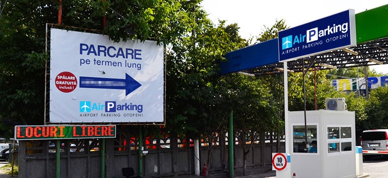 Entrace Airparking